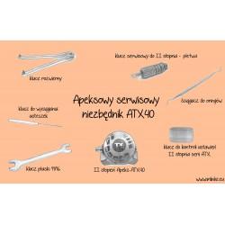 APEKSOWY SERWISOWY NIEZBĘDNIK ATX40 (NOWSZY MODEL)