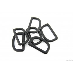 D-RING 6 MM PROSTY PLASTIKOWY 19 MM