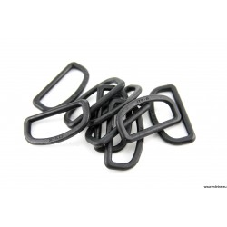 D-RING 6 MM PROSTY PLASTIKOWY 20 MM
