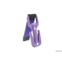 eezycut cały fioletowy rzep fioletowy mocowanie 22 mm lub 50 mm