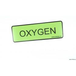 NAKLEJKA 8 * 24 CM OXYGEN