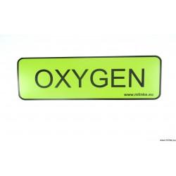 NAKLEJKA 10 * 32,5 CM OXYGEN