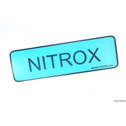 NAKLEJKA 10 * 32,5 CM NITROX